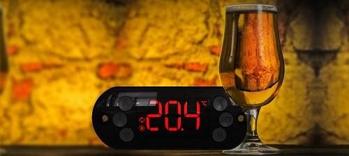Controle de temperatura em geladeira para fermentação de cerveja