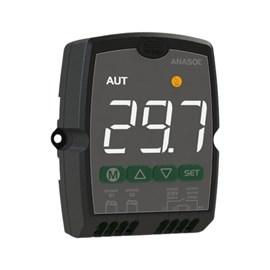Controlador Anasol Digital Full Gauge com 2 funções -(Diferecial 2 Sensores NTC) Ou Termostato Simples (1 Sensor NTC)