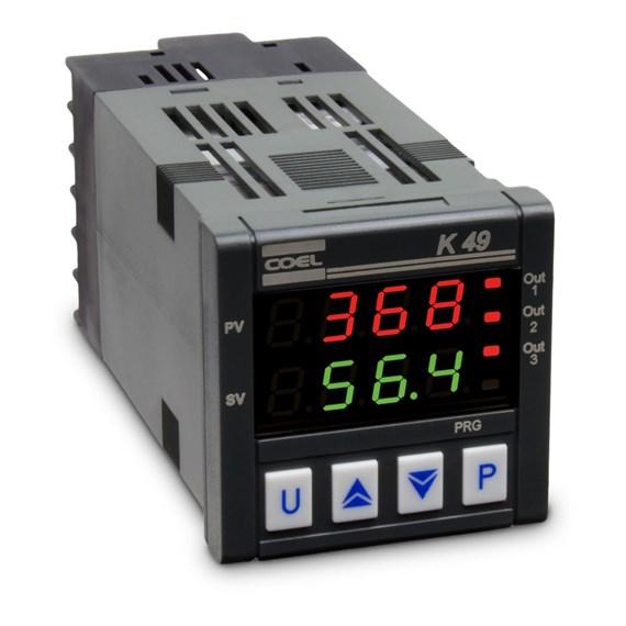 CONTROLADOR DE TEMPERATURA COEL K49P HCORD 100 A 240VCA