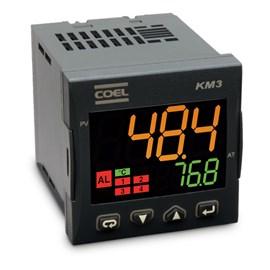 CONTROLADOR DE TEMPERATURA COEL KM3PHCORRDSE-P 100-240VCA