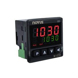 CONTROLADOR DE TEMPERATURA NOVUS N1030 PR J K T PT-100 12/24 VAC/VCC 8103000102