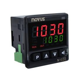 CONTROLADOR DE TEMPERATURA NOVUS N1030 RR J K  T PT-100  12/24 VAC/VCC 8103010100