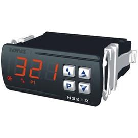 Controlador De Temperatura Novus N321R Ntc Para Aquecimento E Refrigeração Com 1 Sensor Ntc 100 A 240 Vac 80321R3012