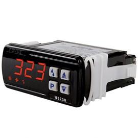 CONTROLADOR DE TEMPERATURA NOVUS N323R NTC PARA REFRIGERAÇÃO COM 2 SENSORES NTC 100 A 240 VAC 80323R3030