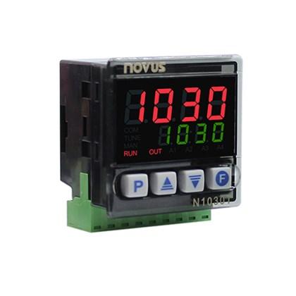 CONTROLADOR DE TEMPO E TEMPERATURA NOVUS N1030T PR J K T PT-100 100 A 240 VAC 8103090002