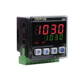 CONTROLADOR DE TEMPO E TEMPERATURA NOVUS N1030T PR J K T PT-100  12/24 VAC/VCC  8103090102