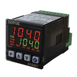 CONTROLADOR DE TEMPO E TEMPERATURA NOVUS N1040T-PRRR USB NTC J K T PT-100 100 A 240 VAC 8104219300