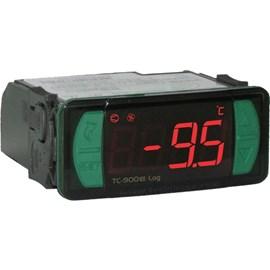 CONTROLADOR FULL GAUGE TC900E LOG COM DATALOGGER E 2 SENSORES NTC 110/220 VAC