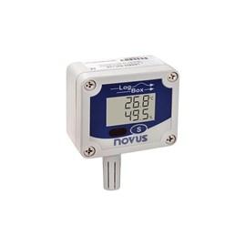 DATA LOGGER NOVUS LOGBOX RHT-LCD 8813003005