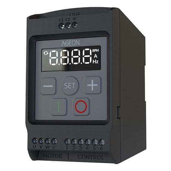 Inversor de Frequência Ageon 1/2 cv AGD Drive MiniXF2-05-1P1