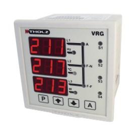 MULTIMEDIDOR DIGITAL VRG330R P377 220V