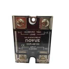 RELE DE ESTADO SOLIDO  NOVUS 100A 48100  4-32VCC 480VCA 8824011100