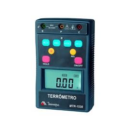 TERRÔMETRO DIGITAL MINIPA MTR-1530 CAT IV 400V