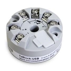 TRANSMISSOR DE TEMPERATURA NOVUS TXBLOCK USB-RTD 4-20MA 8806071406
